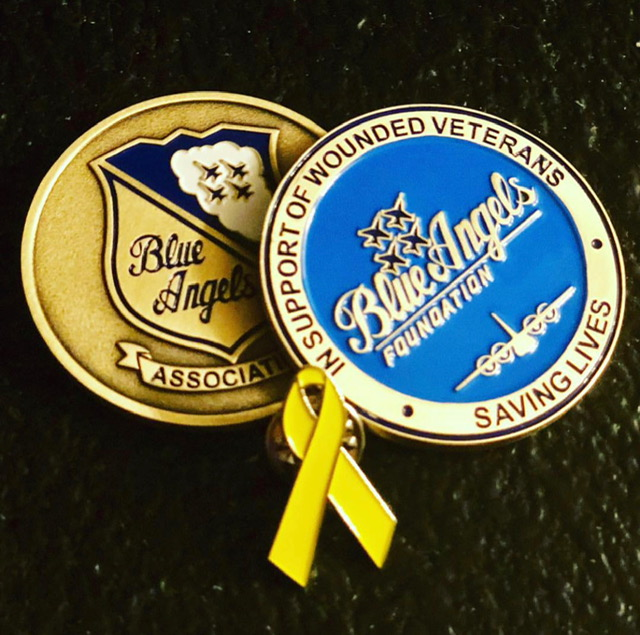 blue angels coin