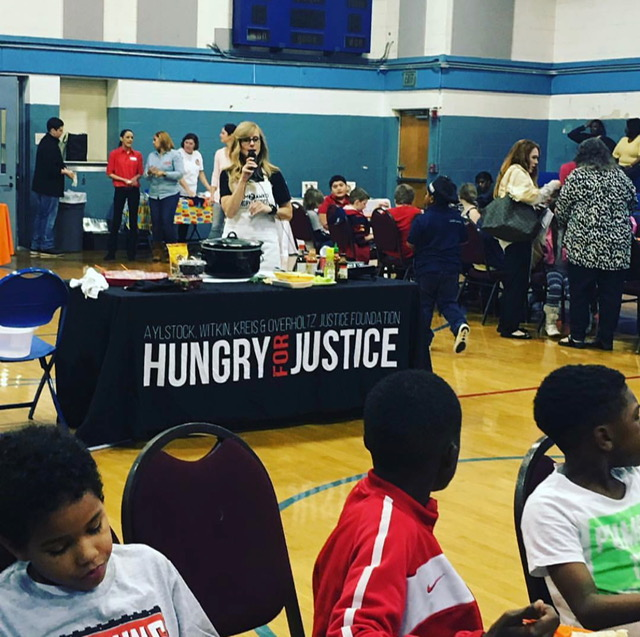 hungry for justice